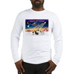XmasSunrise/4 Fr Bulldogs Long Sleeve T-Shirt