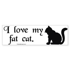 I love my fat cat