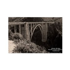 Bixby Bridge Rectangle Magnet