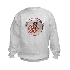 36th Tac Ftr Sqdn Kids Sweatshirt