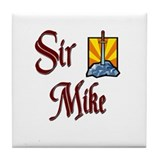 Sir Mike Tile Coaster