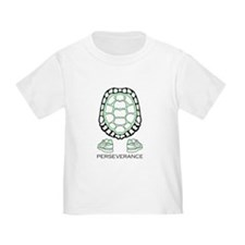 Turtle Perseverance toddler T-Shirt
