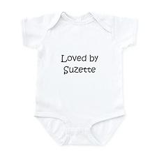 Cute Suzette Infant Bodysuit