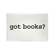 got books? Rectangle Magnet