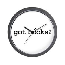 got books? Wall Clock