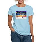XmasSunrise/Great Dane Women's Light T-Shirt