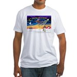 XmasSunrise/Spring Span W2 Fitted T-Shirt