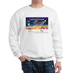 XmasSunrise/Spring Span W2 Sweatshirt