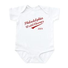 Philadelphia World Champs 2008 Infant Bodysuit