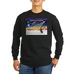 XmasSunrise/Dobbie (red) Long Sleeve Dark T-Shirt