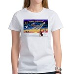 XmasSunrise/Dobbie (red) Women's T-Shirt