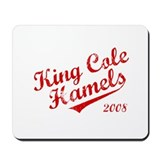 King Cole Hamels 2008 Mousepad