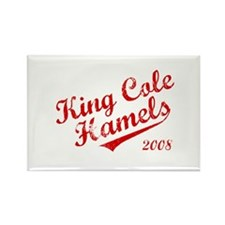 King Cole Hamels 2008 Rectangle Magnet