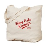King Cole Hamels 2008 Tote Bag