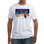 XmasSunrise/Dobbie #1 Fitted T-Shirt
