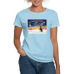 XmasSunrise/Dobbie #1 Women's Light T-Shirt