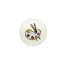 Artist Palet Mini Button (100 pack)