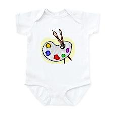 Artist Palet Infant Bodysuit