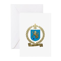 SAUMURE Family Crest Greeting Cards (Pk of 10)