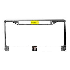 ZeroToHero License Plate Frame