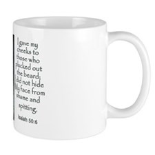 Shroud of Turin Scripture Mug