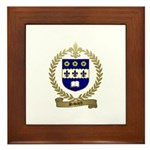 SAVARD Family Crest Framed Tile