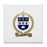 SAVARD Family Crest Tile Coaster