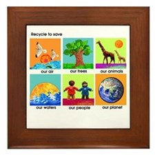 Recycle Framed Tile