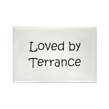 Cute Terrance name Rectangle Magnet