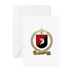 SIMON Family Crest Greeting Cards (Pk of 10)
