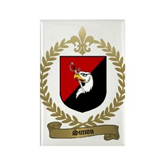 SIMON Family Crest Rectangle Magnet (10 pack)