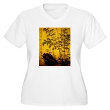 Chinese Art Bamboo T-Shirt