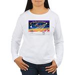 XmasSunrise/Coton #1 Women's Long Sleeve T-Shirt