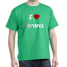 I HEART IOWA T-Shirt