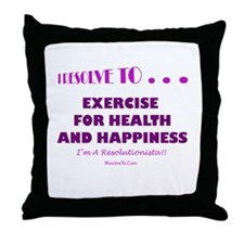 Unique Fitness Throw Pillow