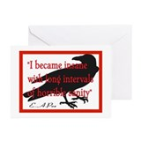 POE QUOTE 2 Greeting Cards (Pk of 10)