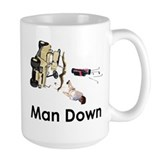 MAN DOWN Mug