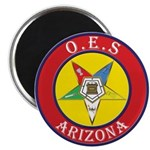 Arizona Order of the Eastern Star Magnet
