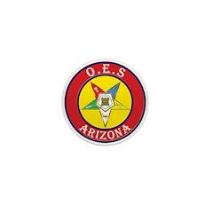 Arizona Order of the Eastern Star Mini Button (10