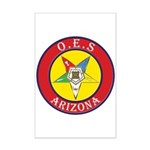 Arizona Order of the Eastern Star Mini Poster Prin