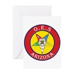 Arizona Order of the Eastern Star Greeting Card