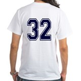 NUMBER 32 BACK Shirt