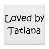 Unique Tatiana Tile Coaster