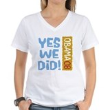 Yes We Did OBAMA 08 Shirt