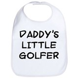 daddy's little golfer Bib
