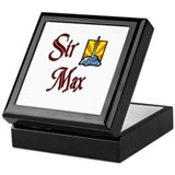 Sir Max Keepsake Box