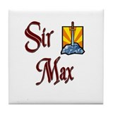 Sir Max Tile Coaster