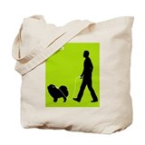 Chow Chow Rough-Coat Tote Bag