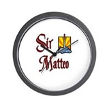 Sir Matteo Wall Clock