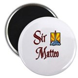 "Sir Matteo 2.25"" Magnet (10 pack)"